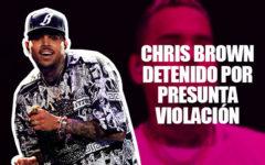 Chris Brown es detenido por una presunta violación