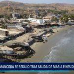 Piura: Playa de Máncora se redujo tras salida del mar