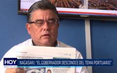 """Chiclayo: Nagasaki:  """"El gobernador desconoce del tema portuario"""""""