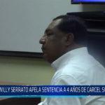 Chiclayo: Willy Serrato apela sentencia a 4 años de cárcel suspendida