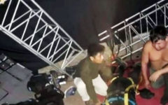 Huancavelica: Integrantes del Grupo 5 sufren accidente