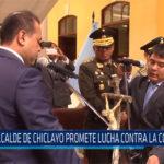 Chiclayo: Alcalde de Chiclayo promete lucha contra la corrupción