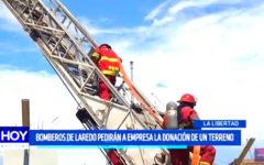 Bomberos de Laredo pedirán a empresa la donación de un terreno