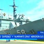 """Salaverry: Buques """"Quiñones y """"Almirante Grau abrieron sus puertas"""