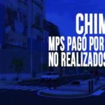 Chimbote: MPS pagó por trabajos no realizados en obra