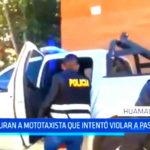 Capturan a mototaxitas que intentó violar a pasajera en Huamachuco