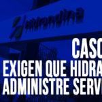 Cascajal: Exigen que Hidrandina administre servicio