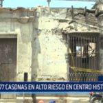 Trujillo: Hallaron 77 casonas en alto riesgo en el Centro Histórico