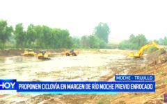 Trujillo: Proponen ciclovía en margen de río Moche previo enrocado