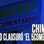 Chimbote: Municipio clausuró 'el 5comentarios'