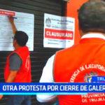 Comercio informal: Otra protesta por cierre de galería
