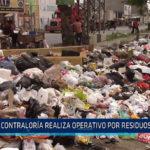 Chiclayo: Contraloría realiza operativo por residuos solidos