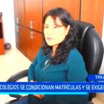 Trujillo: En 50 colegios se condicionan matrículas y se exigen pagos