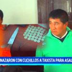 Roba carros: Amenazaron con cuchillos a taxista para asaltarlo
