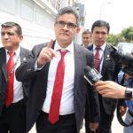 José Domingo Pérez realiza diligencia en local de Telefónica