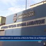 Chiclayo: Gobernador da marcha atrás en tema de Autoridad Portuaria
