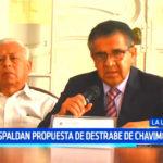 Gobierno Regional: Respaldan propuesta de destrabe de Chavimochic