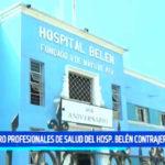 Trujillo: Cuatro profesionales de salud del hospital Belén contrajeron TBC