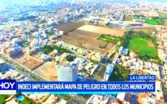 La Libertad: Indeci implementará mapa de peligro en todos los municipios