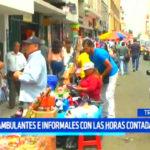 Trujillo: Ambulantes e informales con las horas contadas