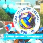 "Se inauguró torneo infantil ""recuperando trujillo"""
