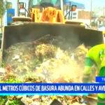 Trujillo: 15,000 metros cúbicos de basura abunda la ciudad