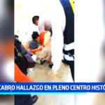 Trujillo: Macabro hallazgo en pleno Centro Histórico