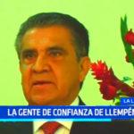 Presentan a la gente de confianza de Manuel Llempén