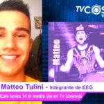 Matteo Tulini integrante de EEG envía saludos