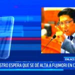 Ministro de Justicia, se pronunció sobre la situación de Alberto Fujimori
