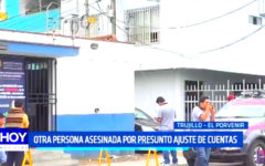 Trujillo: Muere otra persona por presunto ajuste de cuentas