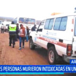 Arequipa: Tres personas murieron intoxicadas en un bus