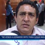 """Chiclayo: """"No vengo a Leonardo Ortiz para más sueldo"""""""