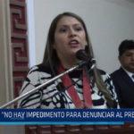 Chiclayo: No hay impedimento para denunciar al presidente