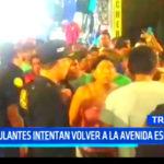 Trujillo: Ambulantes intentan volver a la avenida España