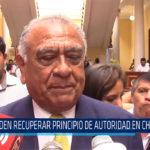 Chiclayo: Piden recuperar principio de autoridad en Chiclayo