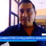 Trujillo: Excandidato pierde los papeles dentro de comuna distrital de Moche