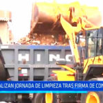 Chiclayo: Realizan jornada de limpieza tras firmar convenio