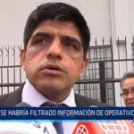 Chiclayo: Se habría filtrado información de operativo en penal