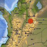 Colombia: Sismo de magnitud 5,4 sacude el noreste de Santander