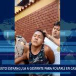 Piura: Sujeto estrangula a gestante para robarle