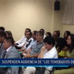 """Chiclayo: Suspenden audiencia de """"Los temerarios del crimen"""""""