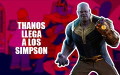 Thanos hace polvo a Los Simpson