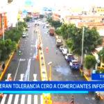 Gerencia Municipal: Reiteran tolerancia cero a comerciantes informales