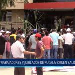 Chiclayo: Trabajadores y jubilados de Pucalá exigen la salida del juez