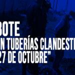 Chimbote: Encuentran tubería clandestina con destino a río Lacramarca