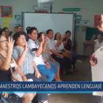Chiclayo: Maestros lambayecanos aprenden lenguaje de señas