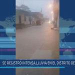 Chiclayo: Se registró intensa lluvia en el distrito de Olmos
