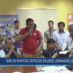 Chiclayo: Son 35 puntos críticos en José Leonardo Ortiz