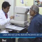 Chiclayo: Cada año hay 20 mil nuevos pacientes de cataratas
